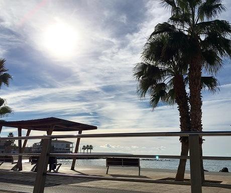 Beachfront, Palma, Autumn in Mallorca