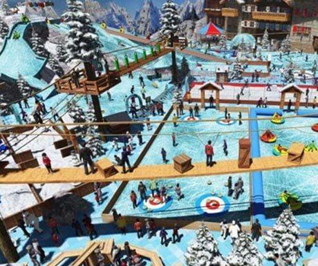 oman snow village