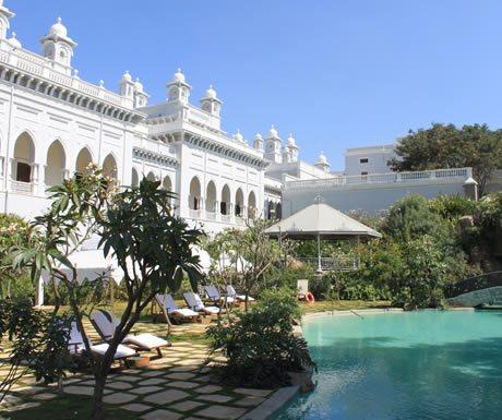 Taj Falaknuma Palace in Hyderabad