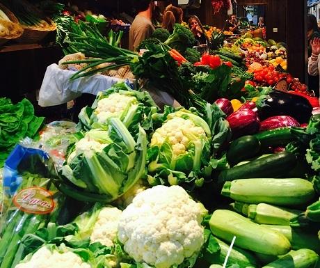 Fresh vegetables, Autumn in Mallorca