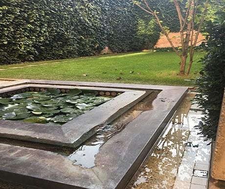 Carlo Scarpa garden