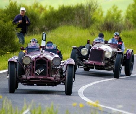 Mille Miglia car race