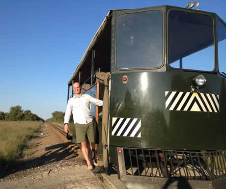 Elephant Express in Zimbabwe