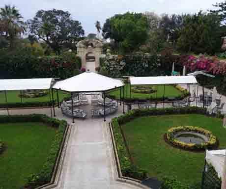 Palazzo Parisio garden Malta