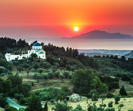 church_sunset_kos_greece
