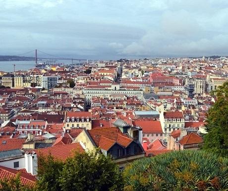 Portugal, Lisbon - city view