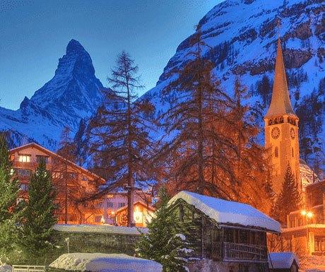 zermatt-town-in-snow
