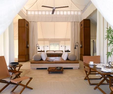 Aman-i-Khas Tent Interior
