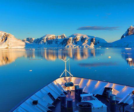 antarctica-sunset