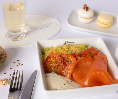 Eurostar Afternoon Meal