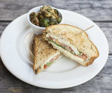 Meehan's Grilled Feta Sandwich