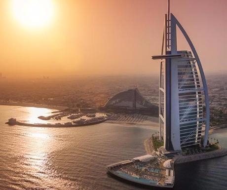 Helipad at Burj Al Arab
