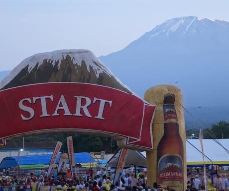 Kilimanjaro marathon ALTB