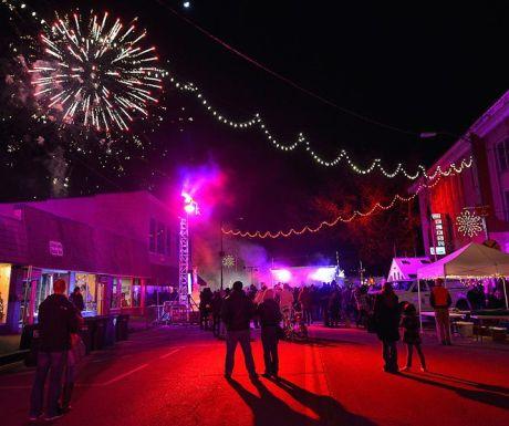 Loveland firework display