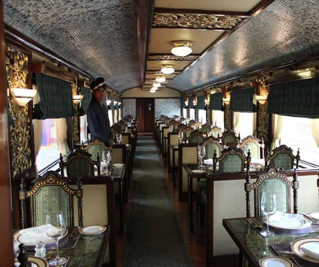 Inside the Maharajas Express