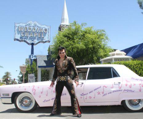 Pink Caddy & Elvis!