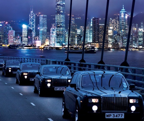Rolls-Royce Phantom at Peninsula Hong Kong