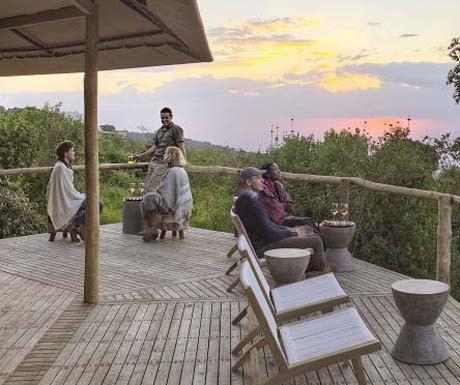 The Highlands, Tanzania, Whisky Bar Sundowner