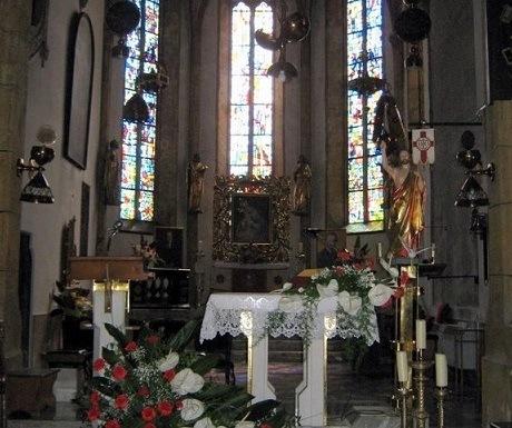5 superb experiences in Skofja Loka, Slovenia, church interior