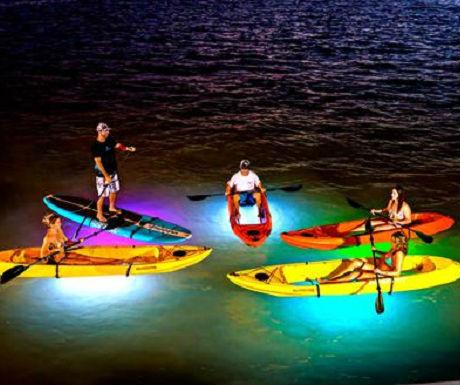 LED Night Kayaking