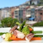 Recipe of the week: Steamed tentacles with vegetables and organic lemon juice