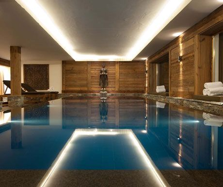Swimming Pool at Chalet Dent Blanche