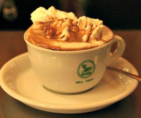 Giolitti hot chocolate