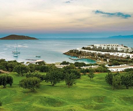 Golf at Elounda