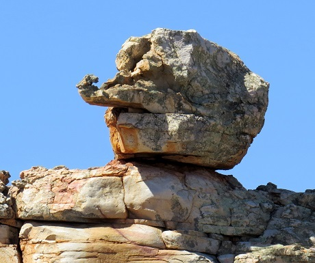 Kagga Kamma, rock Pinocchio's nose