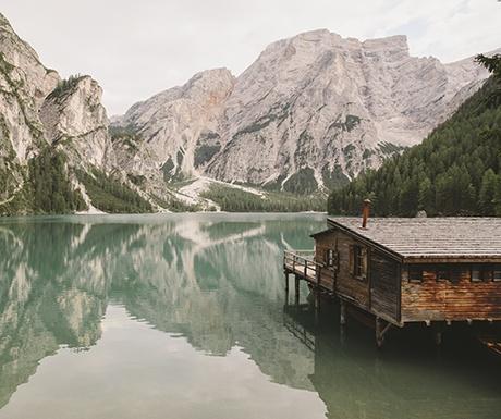Italy - Lago Di Braies