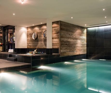 Swimming Pool at Lodge Verbier
