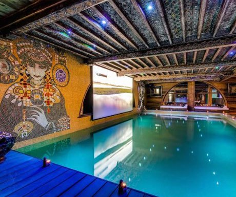 Top 5 European Ski Chalets With Private Pools A Luxury