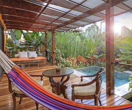 Nayara Springs Balcony private pool