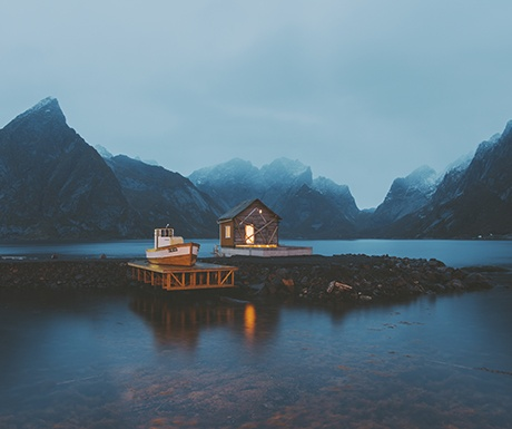 Norway - Fisherman's Hut