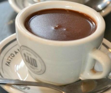 Said del 1923 hot chocolate