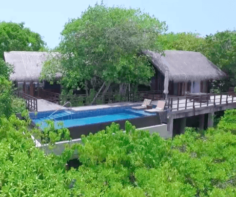 Shangri-La Villingili Resort Tree House Villa