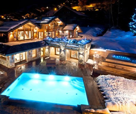 Swimming Pool at Mont Tremblant