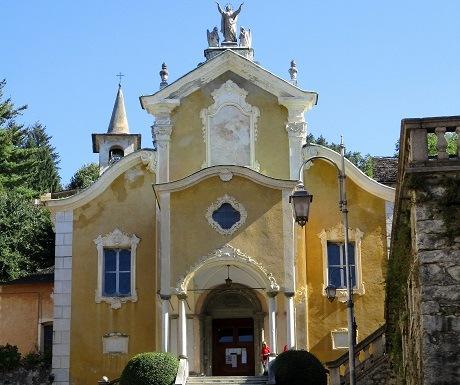Get me to the church in time, Santa Maria Assunta, Orta, Italy