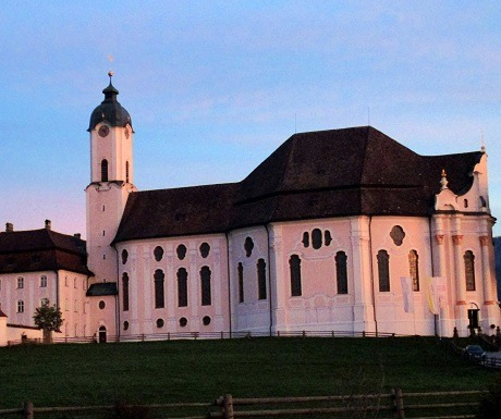 Get me to the church in time, Wieskirche, Germany