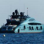 Blue Ice - Palmer Johnson yacht in St Tropez