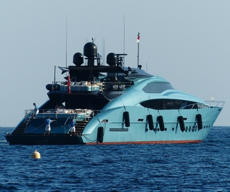 Blue Ice - Palmer Johnson yacht in St Tropez