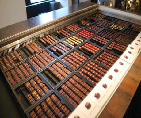 Best chocolate stores in Paris - Pierre Marcolini
