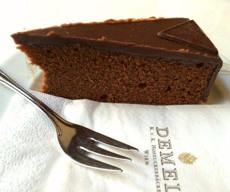 Austrian Cakes: Demel's Sacher Torte
