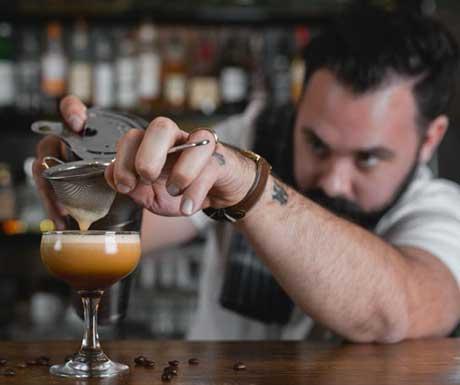 Espresso-martini on the slopes
