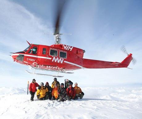 Heli Ski - British Columbia