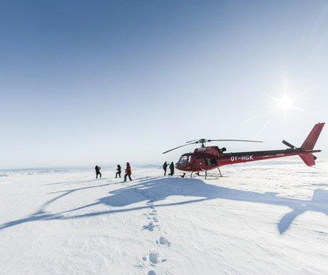 Helicopter-Nordurflug-Tour