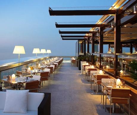 Horizon Deck, Fairmont hotel in Monaco