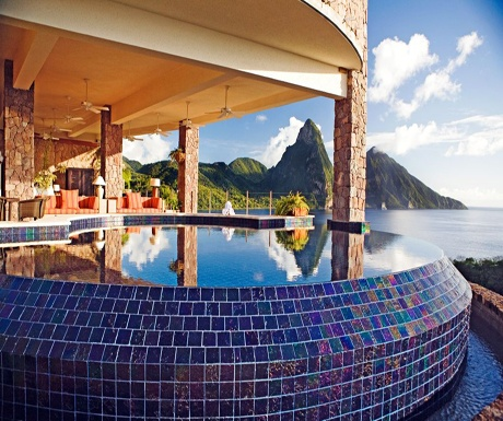 Jade Mountain View from room