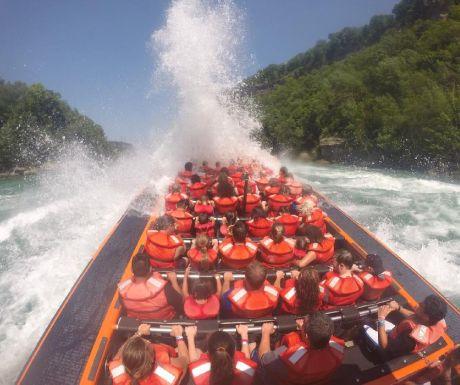 Jetboat tour
