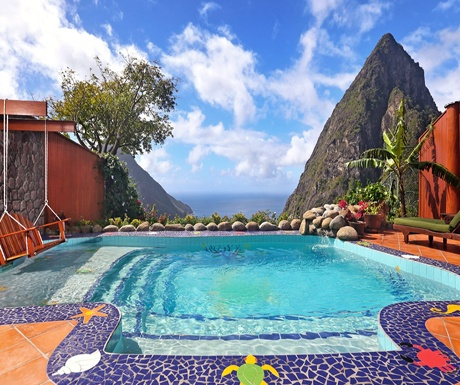 Ladera Private Plunge Pool Overlooking the Pitons